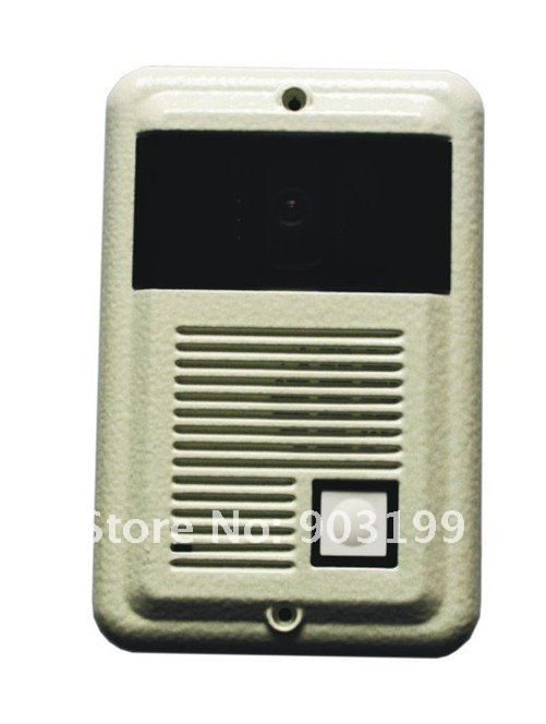 7&quot;color video door phone /intercom system, CCD or CMOS camera, HAND FREE MONITOR WITH 6 LED lights, nightvision