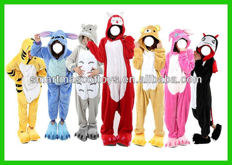 Super soft flannel tigger onesie Adult tigger pajamas