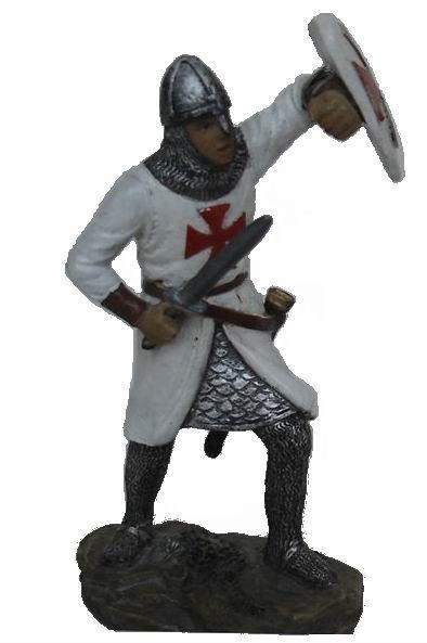 Resin gift knight crusader