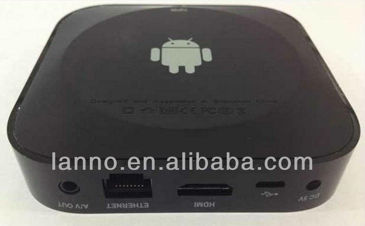RK3188 quad core smart mini pc android tv box