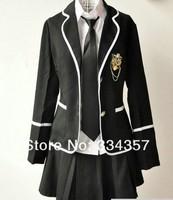 Британский стиль школа единообразного набора женского класса службы матроска моды preppystyle носить четыре части школьной формы