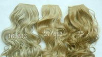 30 Color 5 Clip In On Hair Eextensions Curly Wavy Fashion Woman Lady Synthetic wig Hair Welf Hairpiece   A1878