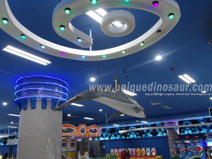 Water Park Amusement Equipment For Sale Shark Statues.jpg