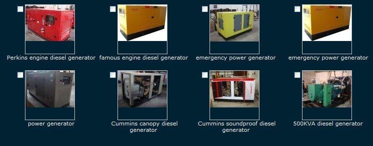 weichai Generator in Indonesia
