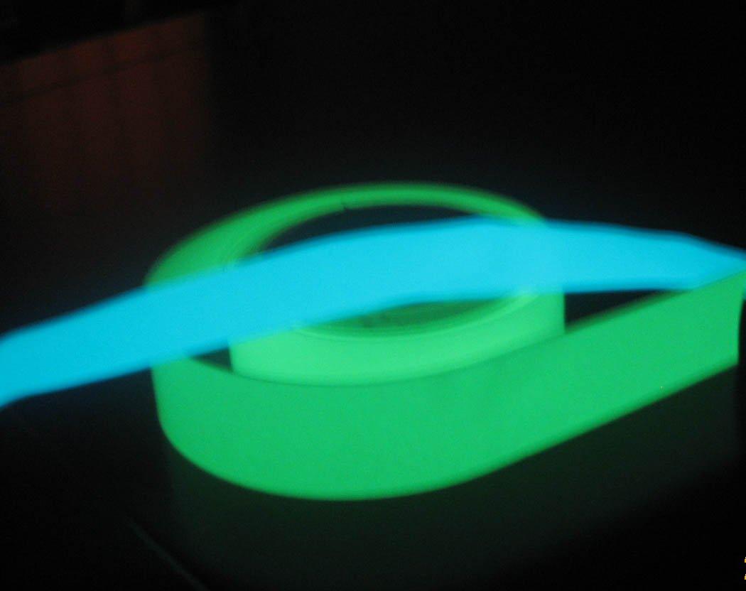 Azul, verde auto adesivo noite glow in the dark fita autocolante