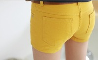 Женские шорты Best Selling Women's Colorful Candy Pencil short Pant/Hot Pant, ladies' short