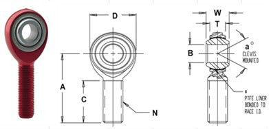 Alu Heim Joint Bearing