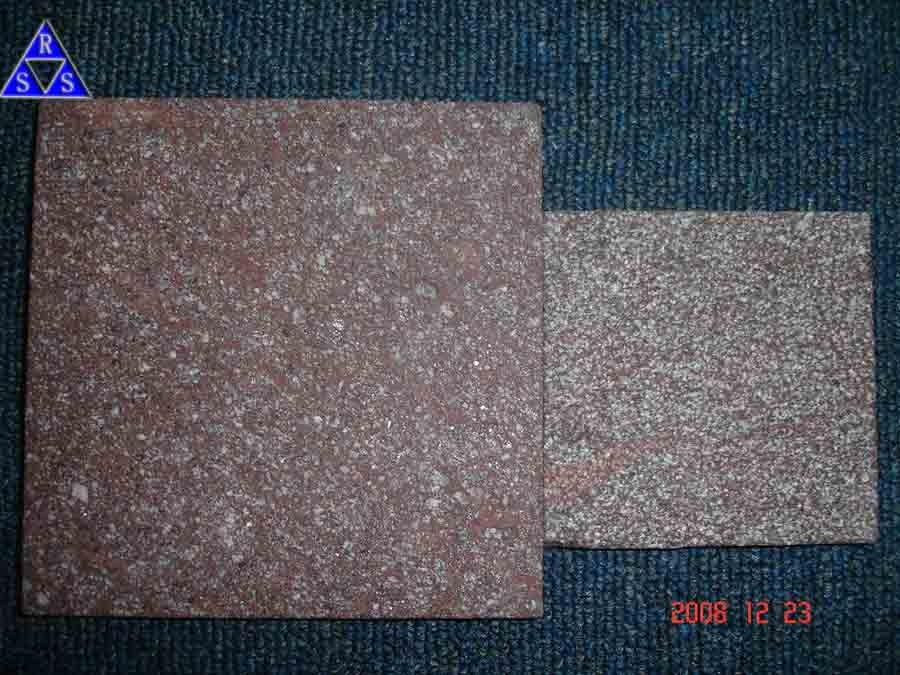 China natural red granite dayang red stone paver