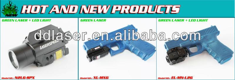 GUN LASER DESIGNATOR/subzero outdoor hunting gun mounted 50mw green rifle scope