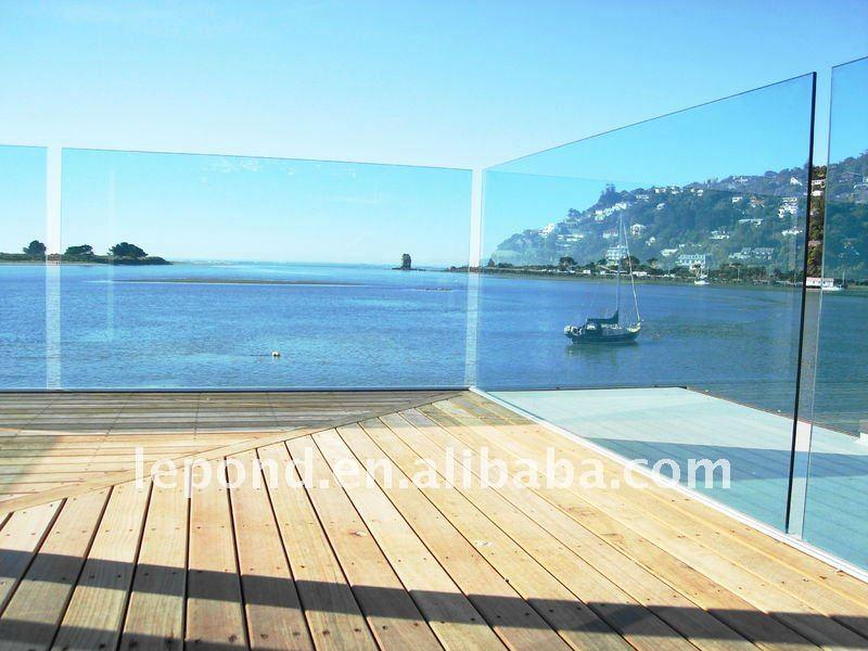 Tremp verre panneaux de cl ture porche piscine verre for Clotures de piscine en verre