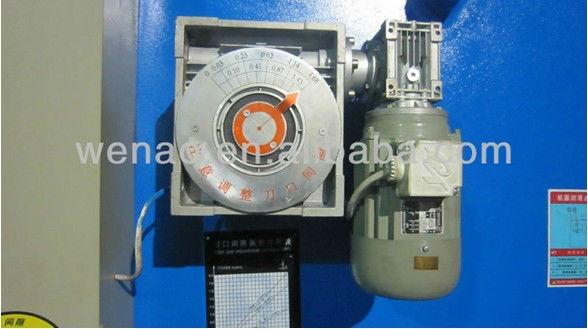 QC12Y-6x4000 hydraulic shearing machine /plate cutting Machine