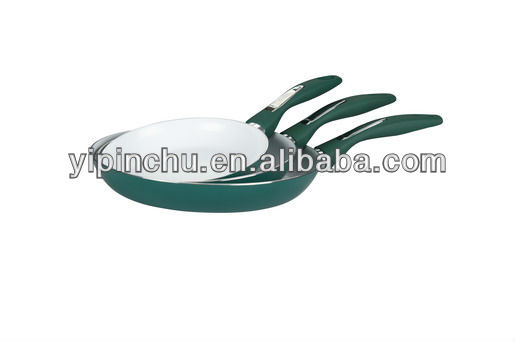 3pcs Aluminum Non-stick Ceramic Fry pan