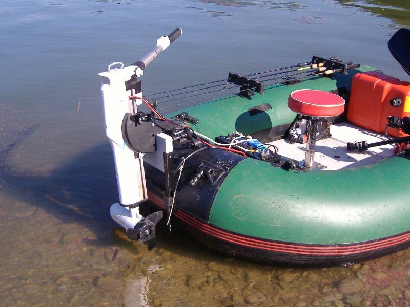 как подобрать электродвигатель на лодку