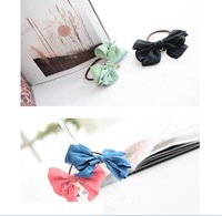 "Ювелирное украшение для волос Muti-lawyers Tulles Butterly Bow Knot Headbands with ""Love-heart"" Pendant, 6 mixed colors Fashion Hair Jewelry"