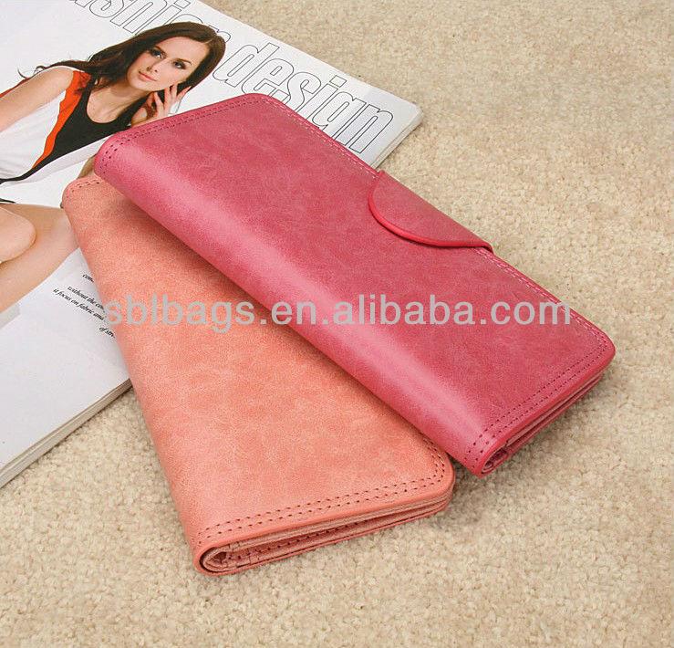 2014 fashion women wallet ladies fashion purses
