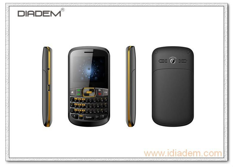gsm dual sim card handphone tv qwerty
