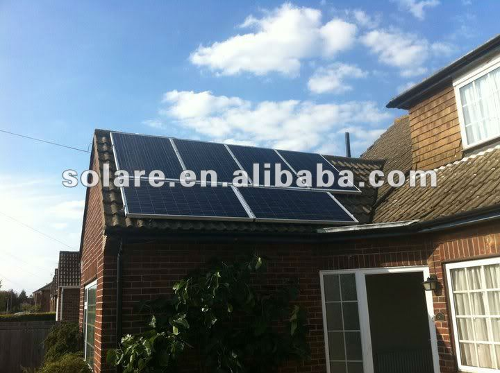 High efficient poly PV solar panel 350Watt 48V for home system