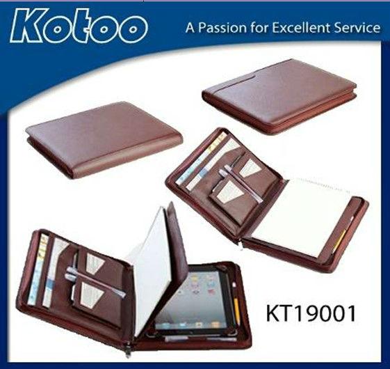PU leather compendium for ipad case
