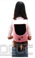 Сумка-переноска для собак Pet Carrier Dog Cat Tote Backpack Travel Carry portable Bag Handbag oxford Pink