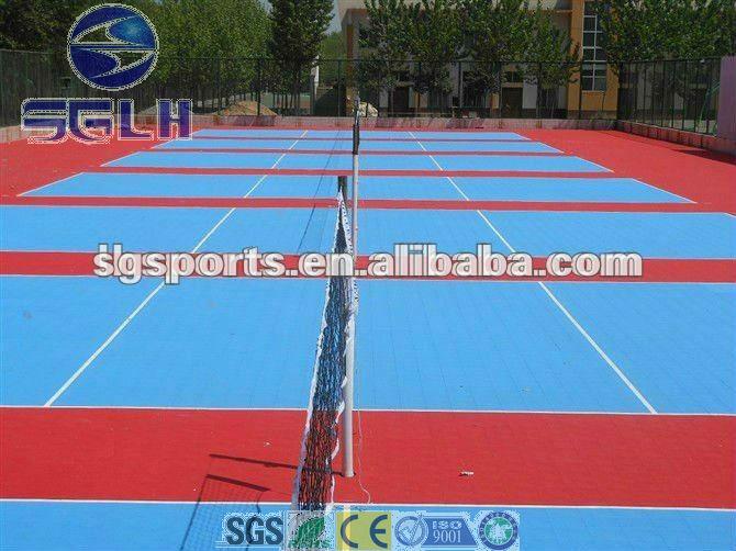 hot hot multifunction sports flooring for basketball court/volleyball court/badminton court/futsal court