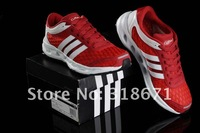 Мужские мокасины 2012 fashion new authentic A D men's breathable mesh sports shoes 6 colors size 39-44 breeze series running shoes cheap price