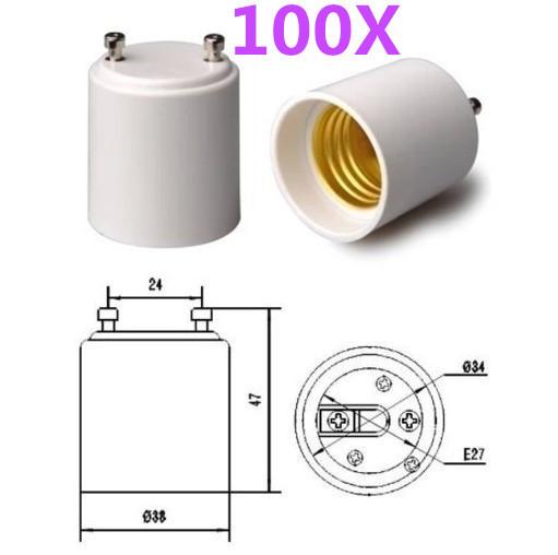 Преобразователь ламп FULL MARCHER GU24 100 E27/E26 GU24/e26/e27 GU24/E27/E26 socket GU24 to E27