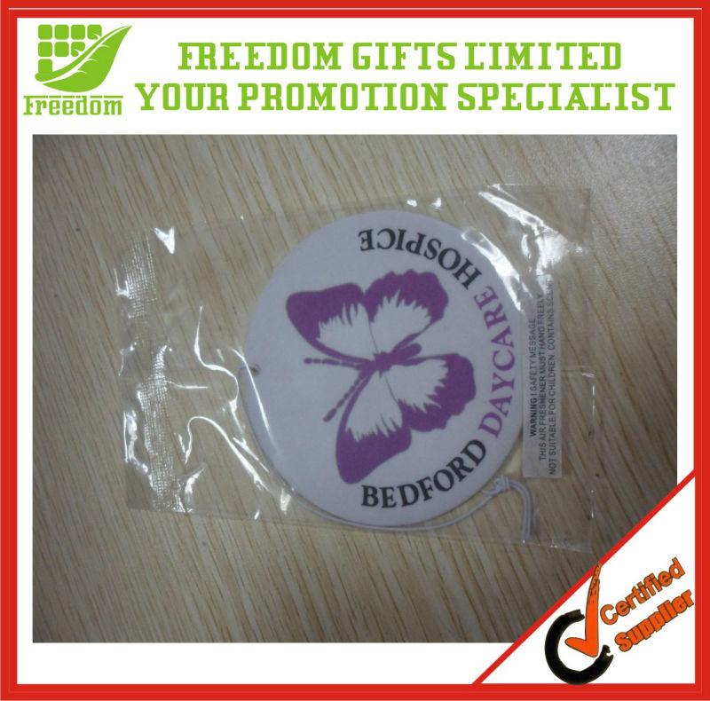 Customized Logo Printed Paper Card Air Freshener
