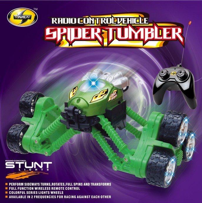 spider tumbler new remote control car