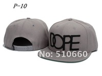 Мужская бейсболка 1pcs/lot Dope Letter Baseball Snapback hats/Caps Grey china post