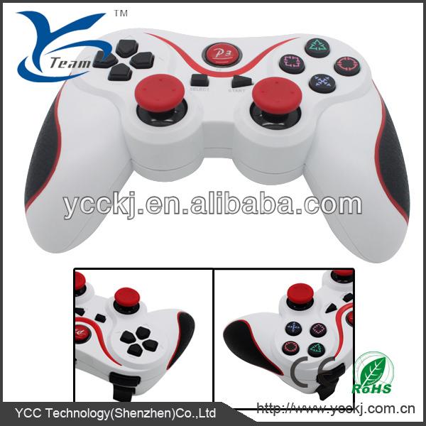 L'arrivée de nouveaux!!! Top qualité à six axes contrôleur bluetooth ps3 joystick pour le contrôleur sans fil