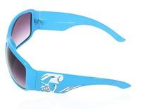 Очки для велоспорта Fashion Skull Design Cycling Sports Sunglasses Outdoor Sports Sunglasses women Sun Glasses - Blue Frame Gray Resin Lens Shipping