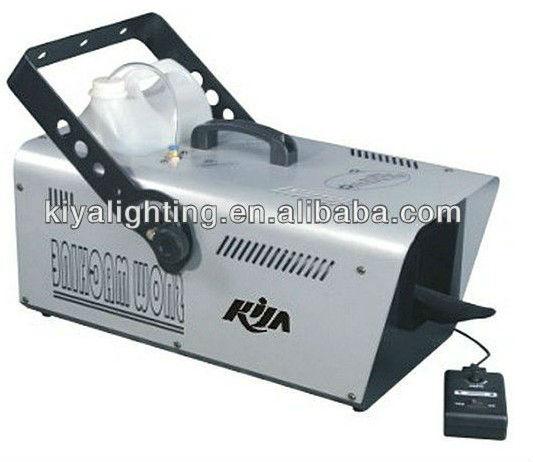 Professional stage indoor 1500W snow machine