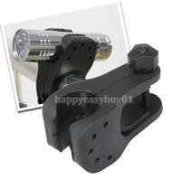New LED Bicycle Bike Flashlight Torch Mount Holder H1E1