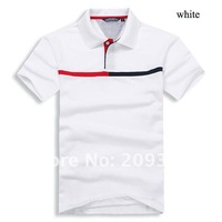 Мужская футболка gray Polo Shirts for men/men's casual t-shirt 7colors available drop shipping