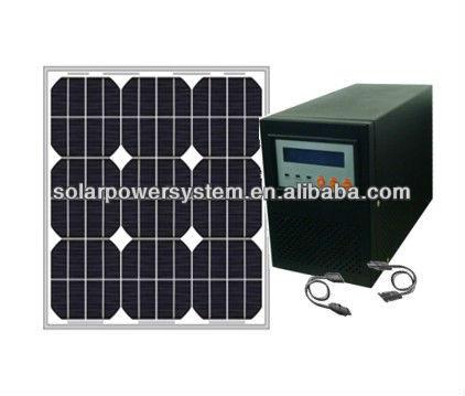 watt solar panel 100W solar energy home system