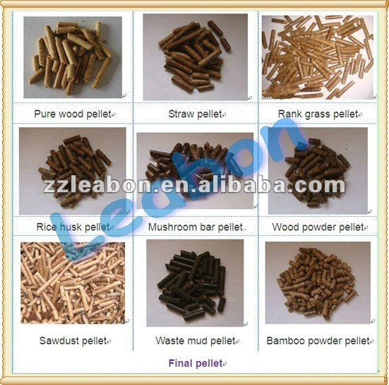 Factory Direct Sale Small Straw pellet machine with KAF reducer