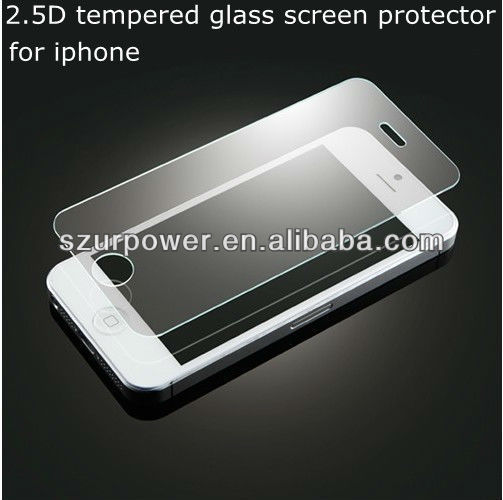 screen protector 4.5 High quality tempered glass screen protector design for handphone