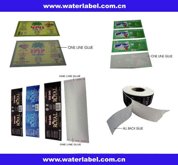 shrink wrap labels for bottle packaging