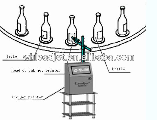 expiry date printing machine ,Pipe /food packaging /egg print date &CIJ printer (V98)