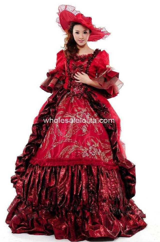 فستان زفاف أحمر  1036860816_740