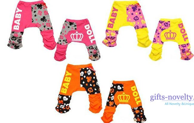 Wholesale 15pcs/lot Hight Quality 5 designs Cotton Animal Style Kids Big PP Pants Jigsaw pp pants 2011 Spring NEW