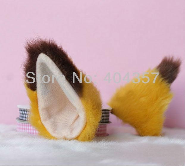 Ушки для лисы своими руками