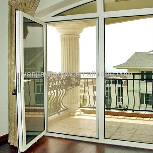 Bedroom Doors Design Aluminium Frosted Glass Door Factory
