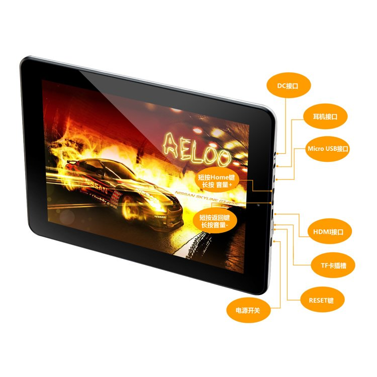 Hot Sale 9.7 inch Teclast A10T Tablet PC Android 2.3 1.5GHz  AllWinner Processor 16G Capacitive Multi Touch 1024*768