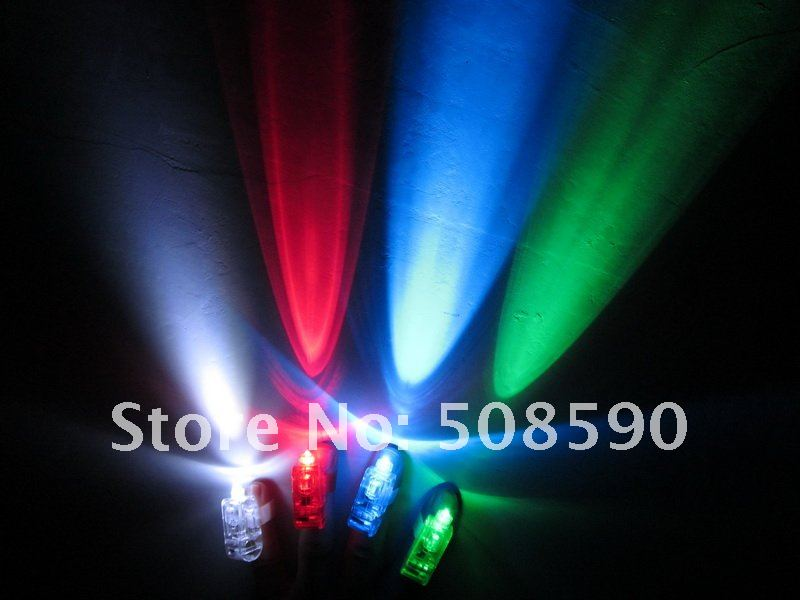 Free Shipping 1000pcs/lot laser finger beams flashing finger lights flashing ring led finger lamp