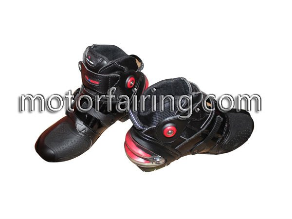 Motor bike racing boots/street bike boot/leather fashion riding boots