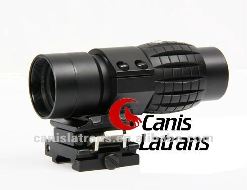 3X Rifle Scope W/ quick release Rail,suitable for hunting and tactical/ shooting CL1-0002