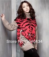 Женский пуловер , my/120 tiger loose