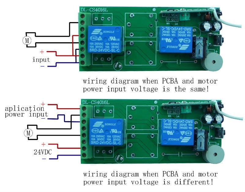 12VDC 2ch sem fio emissor e receptor de sinal