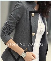 Promotions!!Hot Sale Fashion Jacket/ Lady's coat/jacket outerwear/OL style Jacket